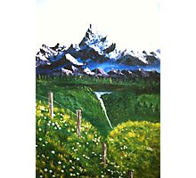 RESTFUL MOUNTAINS Photographic Print