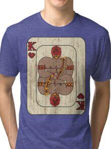 El Rey De Corazones Tri-blend T-Shirt