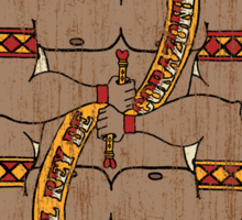 El Rey De Corazones Sticker