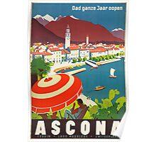 Vintage poster - Ascona Poster