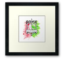 Wizard House Divided {Sly & Brave} Framed Print