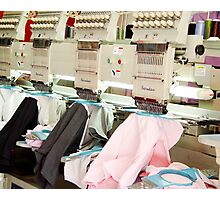 Embroidery Machines Photographic Print