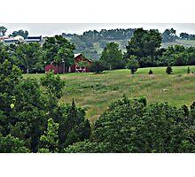 Kentucky Bluegrass Country Photographic Print