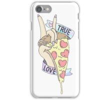 TRUE LOVE PIZZA iPhone Case/Skin