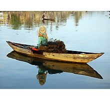 Hoi An Fisherman Photographic Print