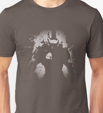 Master Chief Distressed Paint Splatter Unisex T-Shirt