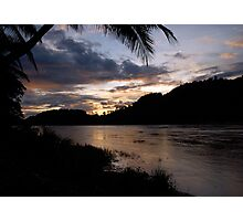 Mekong Sunset Photographic Print