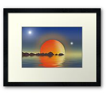 The Red Dwarf Comes Home Framed Print