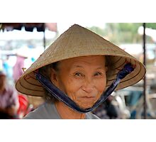 Market Lady Photographic Print