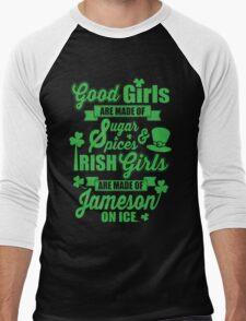 IRISH GIRLS Men's Baseball ¾ T-Shirt