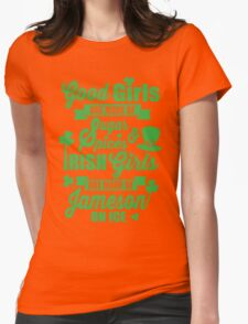IRISH GIRLS Womens Fitted T-Shirt