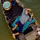 Sleeping Boatman by Rob Steer