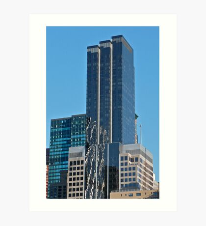 ANONYMOUS TRI-TOWER MIDTOWN WEST BUILDING Art Print