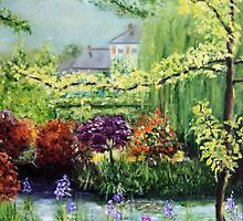 Monet's Garden by Antionette