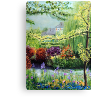 Monet's Garden Canvas Print