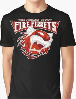 Republic City Fire Ferrets Graphic T-Shirt