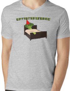 Happy First Bedtime Broccoli Mens V-Neck T-Shirt