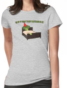 Happy First Bedtime Broccoli Womens Fitted T-Shirt