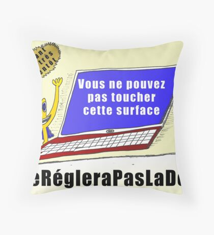 Caricature des infos options binaires - MSFT Surface Throw Pillow
