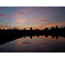 Sunrise Over Angkor Wat Photographic Print