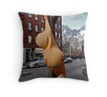 TITS ON A TREE Throw Pillow