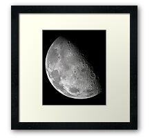 Moon from the Galileo Orbiter Series V Framed Print