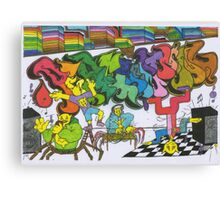 Percentum Hip-Hop Canvas Print