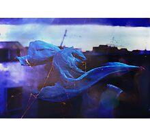 blue spirit. Photographic Print