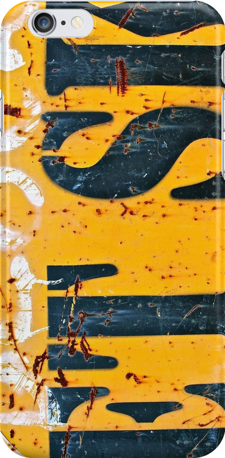 Block Etsk - iPhone Skin by Vikki-Rae Burns