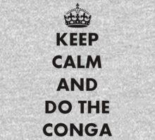 Keep Calm and Do The Conga Kids Clothes