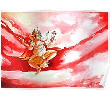Ganesha Dancing ....... Poster