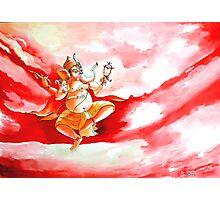 Ganesha Dancing ....... Photographic Print