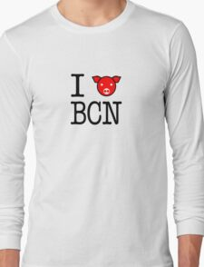 I heart Bacon Tee Long Sleeve T-Shirt