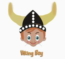 Viking Boy T-shirt design by Dennis Melling