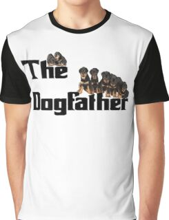 The Dog Father - Rottweiler Litter Graphic T-Shirt