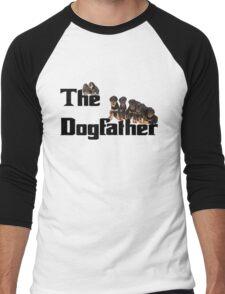 The Dog Father - Rottweiler Litter Men's Baseball ¾ T-Shirt