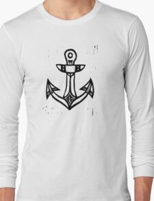 Holdfast Anchor Long Sleeve T-Shirt