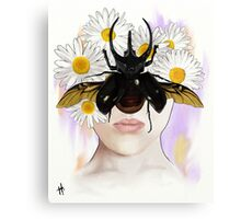 Rhino Beetle Canvas Print