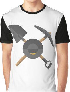 Pick, Shovel, & Pan Graphic T-Shirt