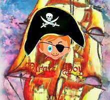 Pirate Boy iPhone design by Dennis Melling