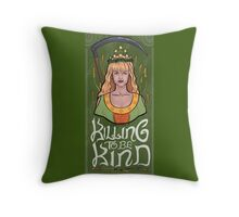 Xena: The Bitter Suite - Gabs Throw Pillow