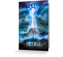 I Believe. Greeting Card