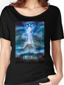 I Believe. Women's Relaxed Fit T-Shirt