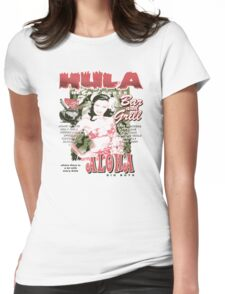 hula delight Womens Fitted T-Shirt