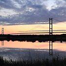 Humber Bridge Dawn by John Dunbar