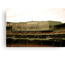 Fenway Park Boston, Mass Canvas Print