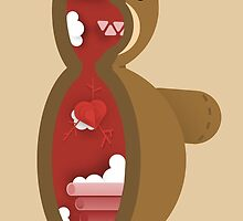 Cross Section: Teddy Bear by rafaelmax