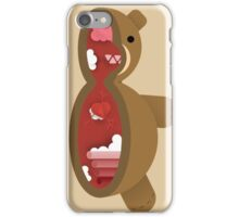 Cross Section: Teddy Bear iPhone Case/Skin