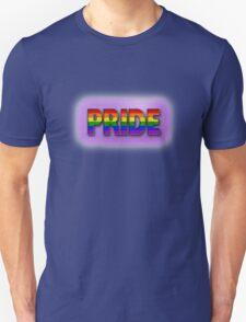 Rainbow PRIDE - Purple Unisex T-Shirt