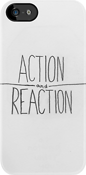 action / reaction by ashaykaden